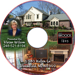 CD with High Resolution Images for real estate
